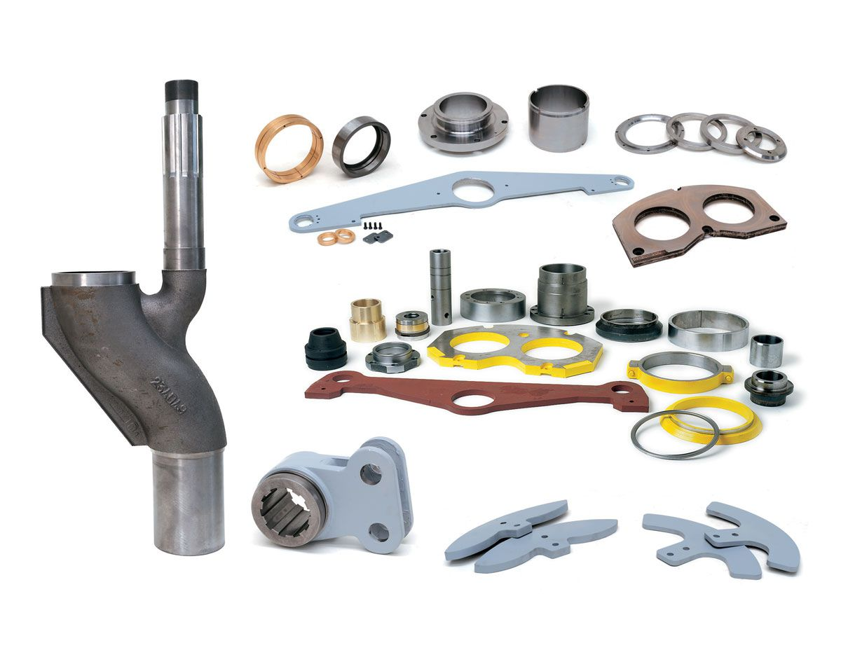 Wear parts - Dalcom   Spare parts and machinery for concrete pumping